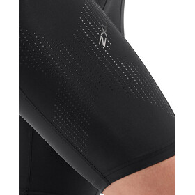 2XU Mid-Rise Compression Shorts Women, black/dotted black logo
